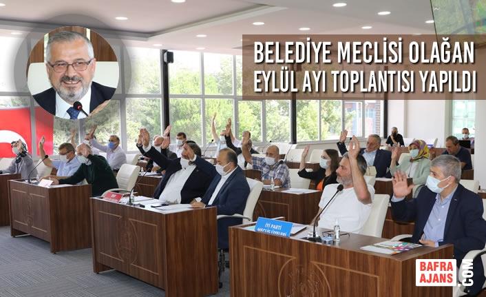 Belediye Meclisi Olağan Eylül Ayı Toplantısı Yapıldı