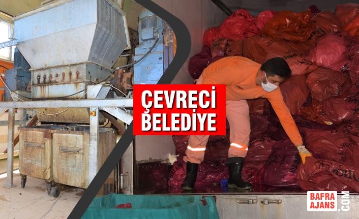 Binlerce Ton Tıbbi Atığı Büyükşehir Belediyesi Bertaraf Ediyor