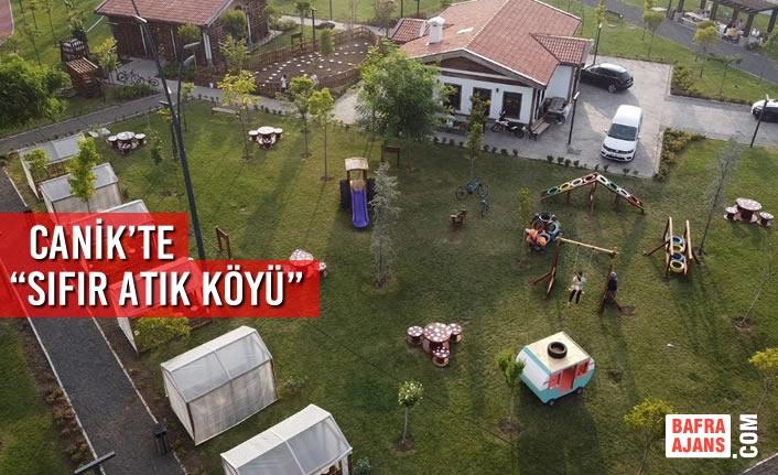 """Canik'te """" Sıfır Atık Köyü """" Kuruldu"""