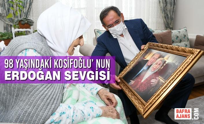 Cumhurbaşkanı Erdoğan Hayranı Kosifoğlu'na Başkan Demir'den Ziyaret