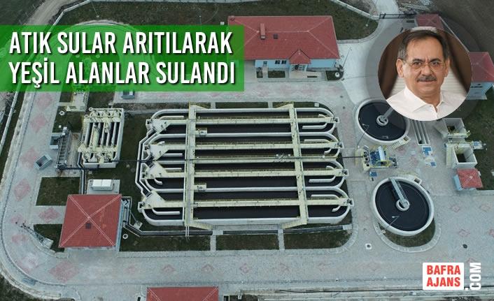 Samsun Büyükşehir Belediyesi Çevreci Yatırımlarını Hızlandırdı