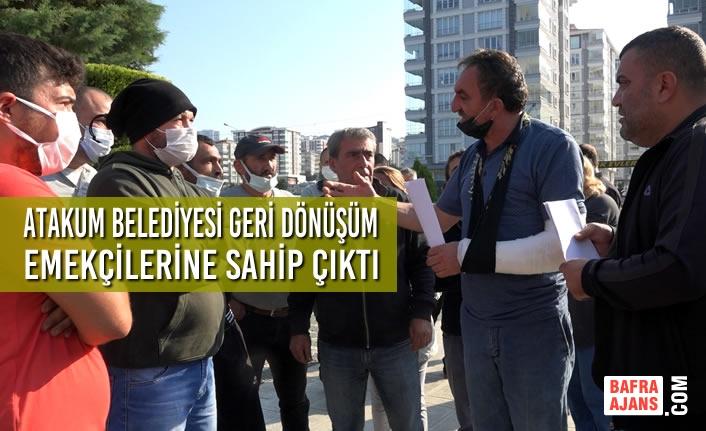 Atakum Belediyesi Geri Dönüşüm Emekçilerine Sahip Çıktı