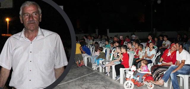 Alaçam'da 2. Açık Hava Sinema Günleri Başladı