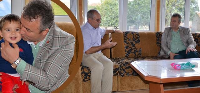 Başkan Topaloğlu'ndan Yeni Hacılara Ziyaret