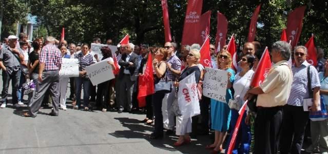 Chp, Başkent'te Ergenekon Davası Kararlarını Protesto Etti