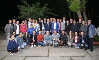 Başkan Şahin, Makedonyalılara Bafra Kuş Cennetini Gezdirdi