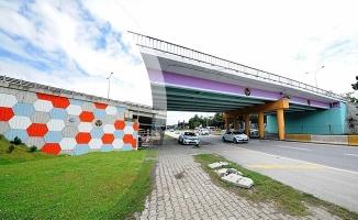 Büyükşehirden Köprülere De Estetik Dokunuş