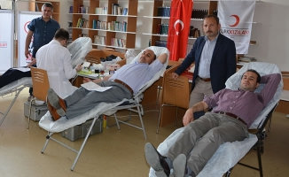 Hamidiye İmam Hatip Lisesinden Kan Bağışı Kampanyası