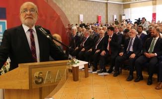 SP Genel Başkanı Karamollaoğlu Samsun'da