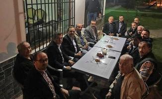 Başkan Zihni Şahin; Ziyaretlerine Ara Vermiyor