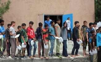 Amasya'da 102 kaçak yakalandı