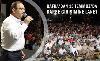 Bafra'da 15 Temmuz Milli Birlik ve Beraberlik günü
