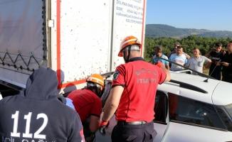 Bolu'da trafik kazası: 1 ölü, 2 yaralı