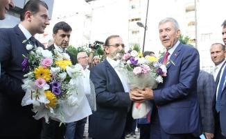 Çiçeği Burnunda Bakan Demircan Bafra'da