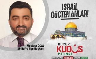 """Saadet Partisi'nden """"Büyük Kudüs Mitingi"""" Çağrısı"""