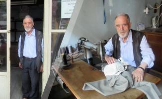 85 Yaşındaki Emektar Terzi Hazır Giyimden Dertli