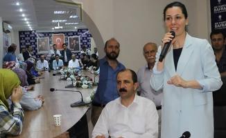 AK Parti Genel Başkan Yardımcısı Karaaslan; Bafra'da