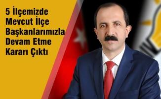 AK Parti İl Başkanı Göksel, Kongre Sürecini Değerlendirdi