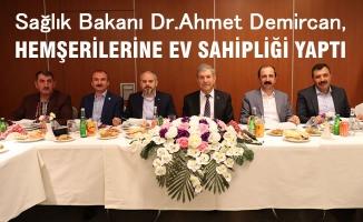 AK Parti Samsun İl Teşkilatı Ankara'da