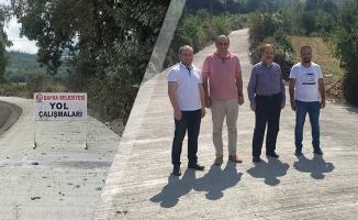 Bafra Belediyesi 250.000 Metrekare Beton Yol Yaptı
