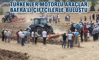 Bafra'da New Holland Tarım Ve Teknoloji Road Show