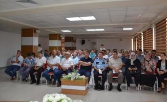 Bafra'da Uyuşturucu ve Uyarıcı Maddelerle Mücadele Toplantısı