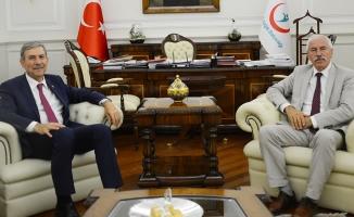 Başkan Hadi Uyar'dan Ankara Ziyareti