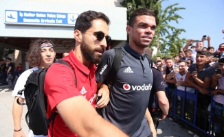 Beşiktaş kafilesi Samsun'a geldi