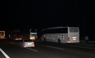 Bolu'da zincirleme trafik kazası: 7 yaralı