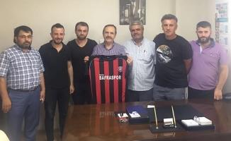 Genç Bafraspor'dan Başkan Şahin'e Ziyaret