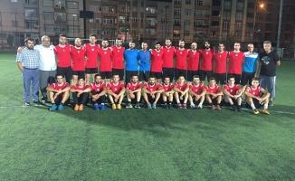 Genç Bafraspor Oyuncuları Top Başı Yaptı