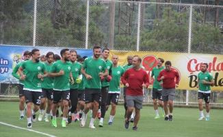 Giresunspor'da Boluspor maçı hazırlıkları başladı