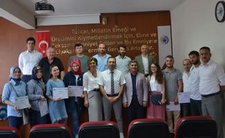 KOSGEB Girişimcilik Kursu Katılımcıları Sertifikalarına Kavuştu