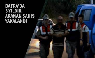 Bafra'da 3 Yıldır Aranan Şahıs Yakalandı