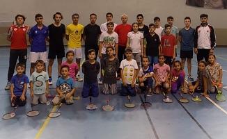 Bafra'da Avrupa Şampiyonası Öncesi Badminton Seçmeleri