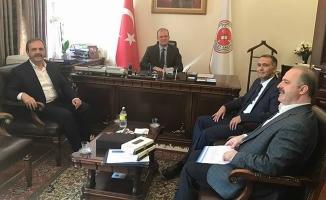 Başkan Şahin Ankara'da Yargı Bürokrasisine Ziyaretlerde Bulundu