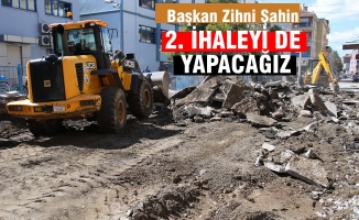 """Başkan Zihni Şahin; """"2. İhaleyi De Yapacağız"""""""