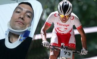 İşitme Engelli Milli Bisikletçi Atik Trafik Kazası Geçirdi