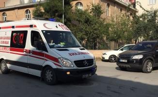 Kavakpınar Mahallesinde Trafik Kazası; 1 Yaralı