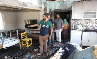 Mandıradaki yangında 1 milyon liranın yandığı iddiası