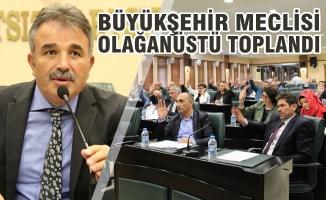 Samsun Büyükşehir Meclisi Olağanüstü Toplandı