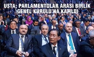 """Usta; """"Kıbrıs Türk'ünün Haklı Sesinin Duyurulması Önemli"""""""