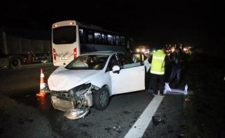 Anadolu Otoyolu'nda trafik kazası: 4 yaralı