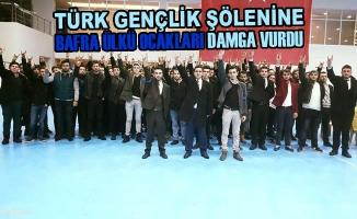 Türk Gençlik Şölenine Bafra Ülkü Ocakları Damga Vurdu