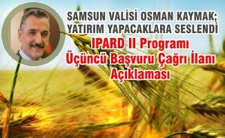 Vali Osman Kaymak; Yatırım Yapacaklara Seslendi