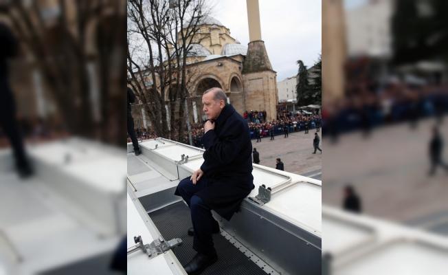 Cumhurbaşkanı Erdoğan Düzce'de