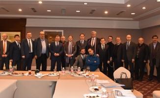 Malkoç ve büyükelçiler Trabzon'da
