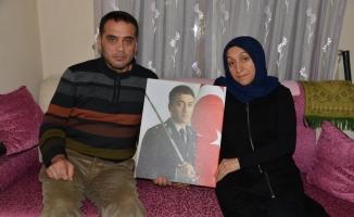 Şehit ailesi benzer acıyı ikinci kez yaşadı
