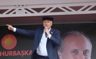 CHP'nin cumhurbaşkanı adayı İnce, Kastamonu'da