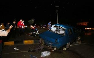 Kastamonu'da 2 otomobil çarpıştı: 3 ölü, 6 yaralı
